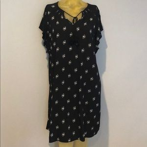 OLD NAVY DRESS OR COVER UP LARGE